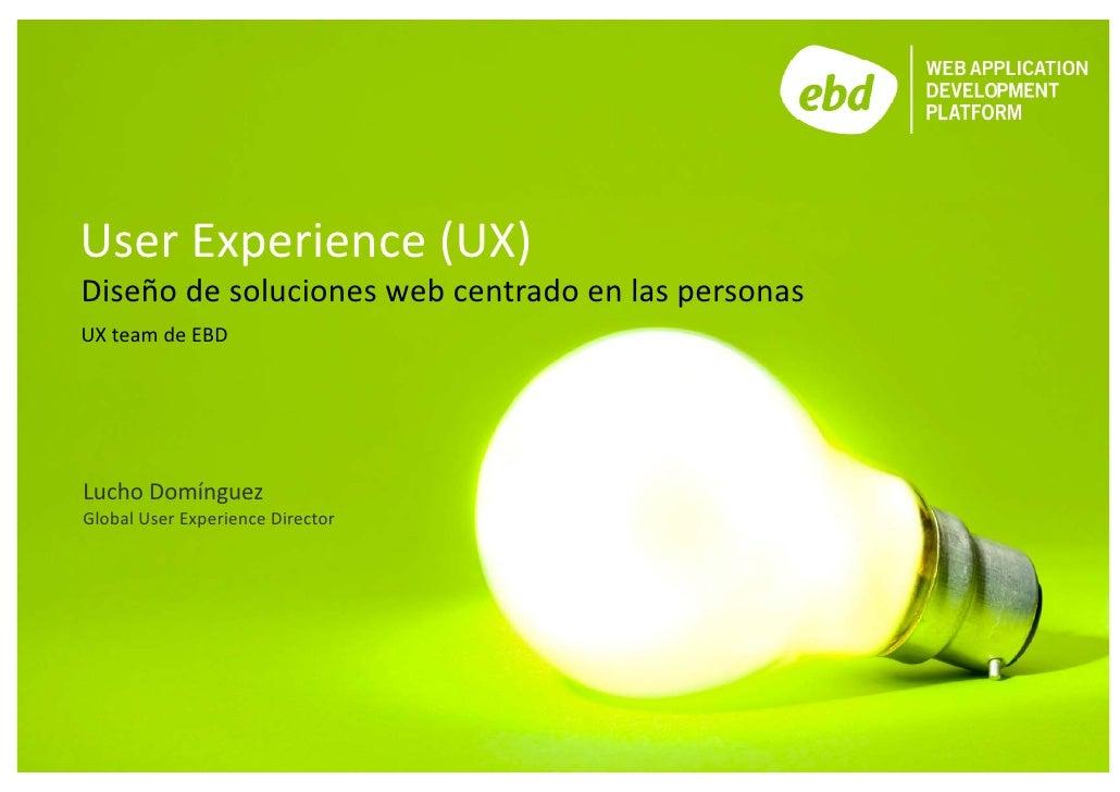 Presentación UX Team 2010