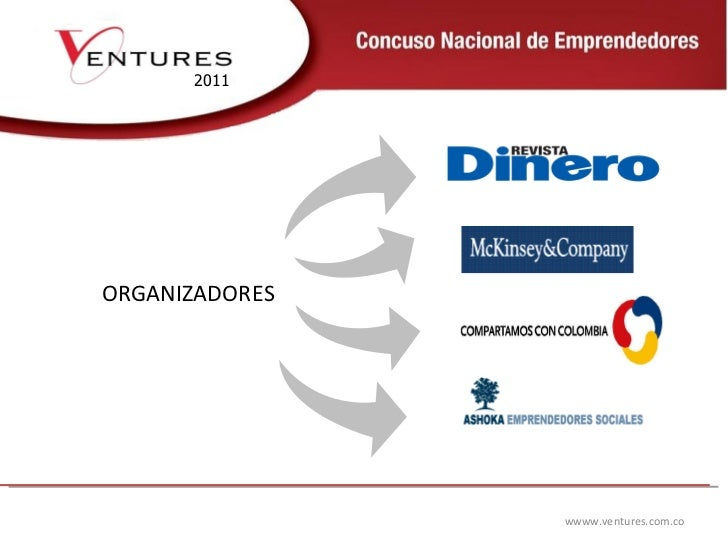 wwww.ventures.com.co 2011 ORGANIZADORES