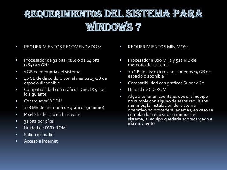 Presentacion windows seven
