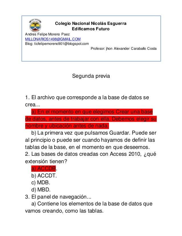 Colegio Nacional Nicolás Esguerra  Edificamos Futuro  Andres Felipe Moreno Paez  MILLONARIOS1498@GMAIL.COM  Blog: ticfelip...