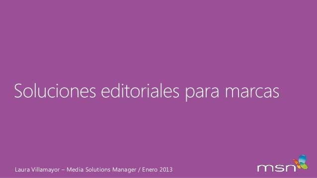 Presentacion workshop costa rica soluciones editoriales en kolbi msn