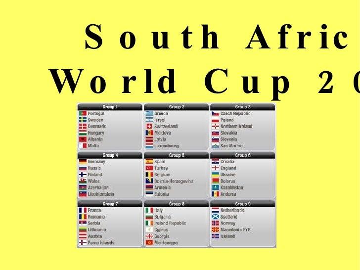 Presentacion world cup 2010