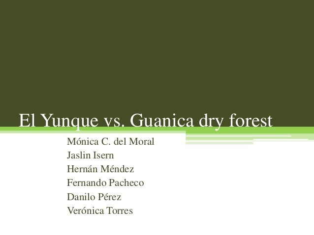 Presentacion yunque vs. guanica