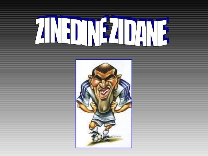 Presentacion zidane