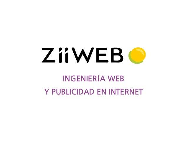 INGENIERÍA WEB Y PUBLICIDAD EN INTERNET