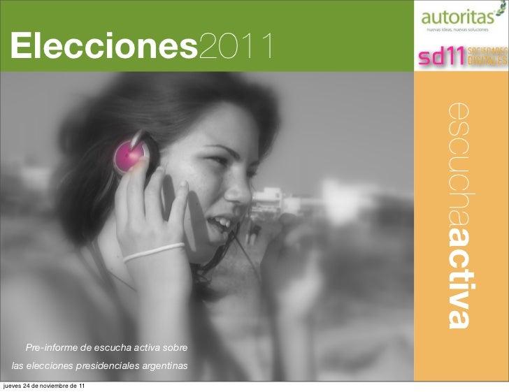 Elecciones2011                                             Análisis Cualitativo                                           ...