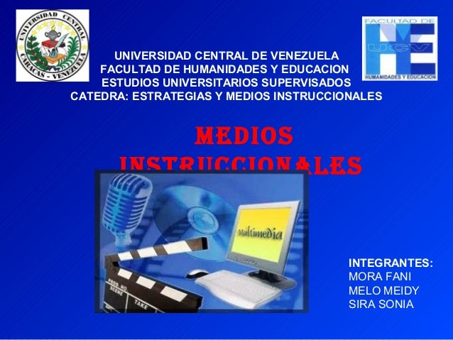 UNIVERSIDAD CENTRAL DE VENEZUELA    FACULTAD DE HUMANIDADES Y EDUCACION    ESTUDIOS UNIVERSITARIOS SUPERVISADOSCATEDRA: ES...