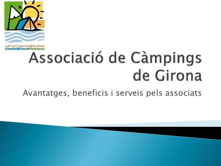 Presentació per nous associats 2012