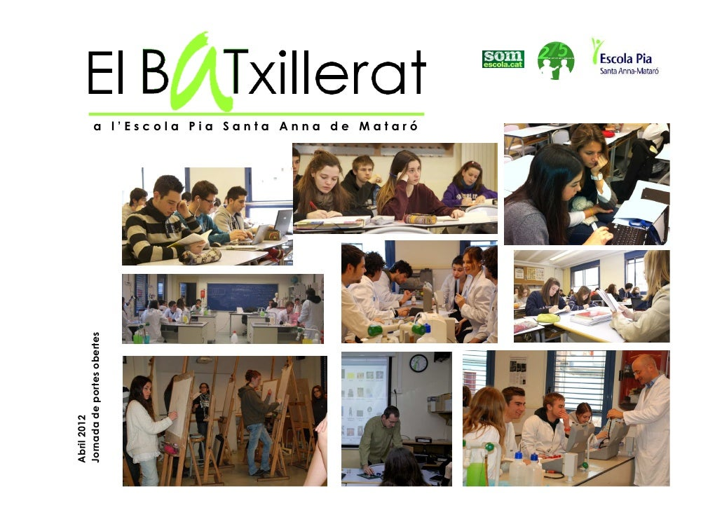 Presentació portes obertes 2012