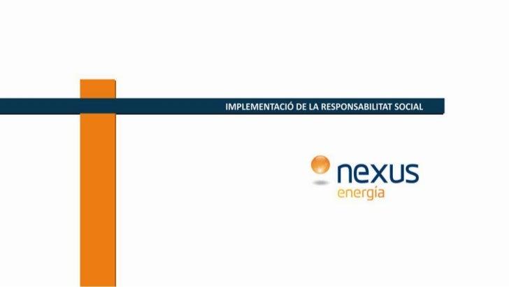 Presentació RS Plantilla Nexus