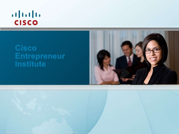 Cisco Entrepreneur Institute