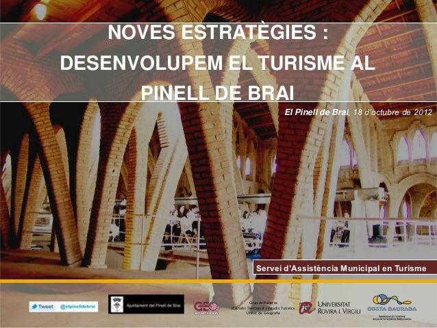 estratègies per al foment turístic