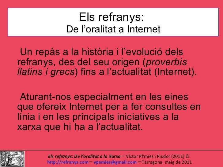 Presentació Tarragona