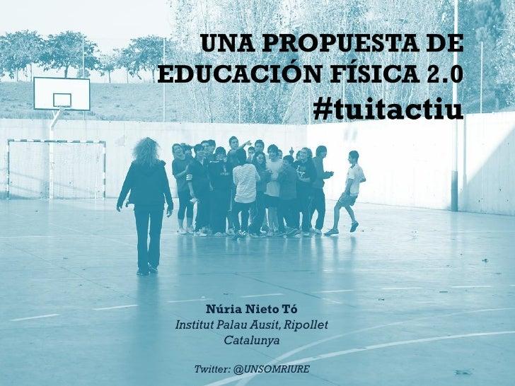 Presentación #tuitactiu al FIEP 2012, Barcelona