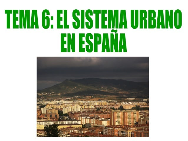 1. El concepto de ciudad.