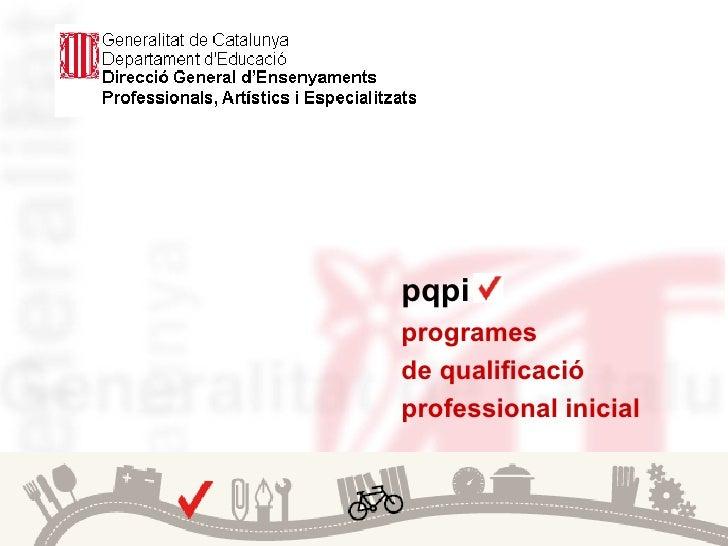Presentació web pqpi