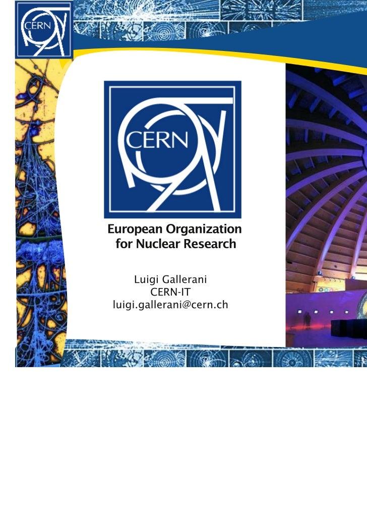 Benvenuti al CERN
