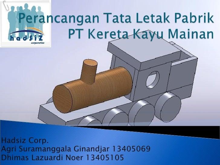 Hadsiz Corp. Agri Suramanggala Ginandjar 13405069 Dhimas Lazuardi Noer 13405105