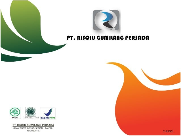 Presentasi Untuk Calon Mitra RGP