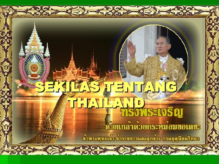 TIGA MUSIM DI THAILAND (Pengamatan fenomena alam berupa musim di Thailand)
