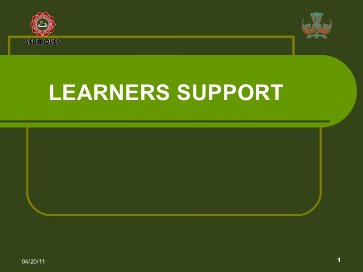 LEARN ERS  SUPPORT   04/20/11