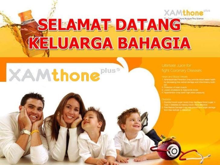 Presentasi Dahsyat XAMthone Plus