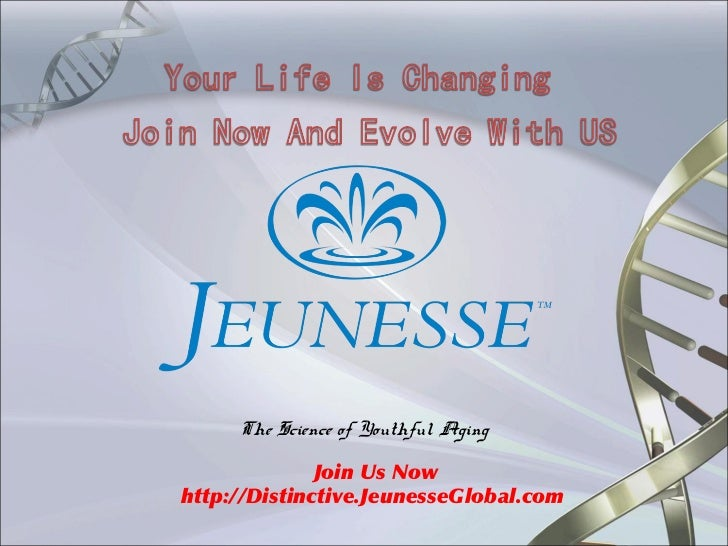 The Science of Youthful Aging              Join Us Nowhttp://Distinctive.JeunesseGlobal.com