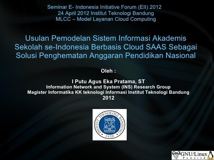 Presentasi eii 24 april 2012