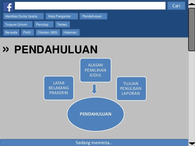 Contoh Power Point Presentasi PKL