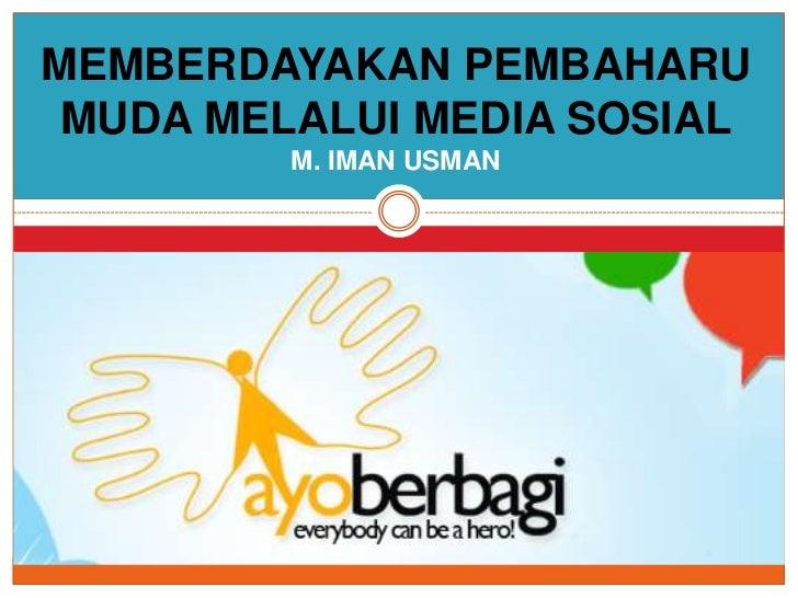 1 Bulan Gerakan Ayo Berbagi (Okt-Nov 2011)