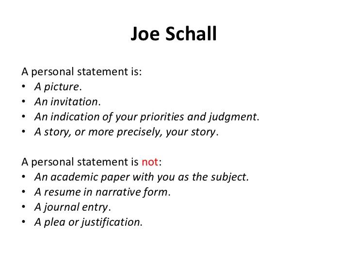 personal statement self motivation