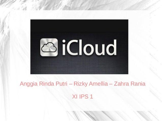 Anggia Rinda Putri – Rizky Amellia – Zahra Rania XI IPS 1