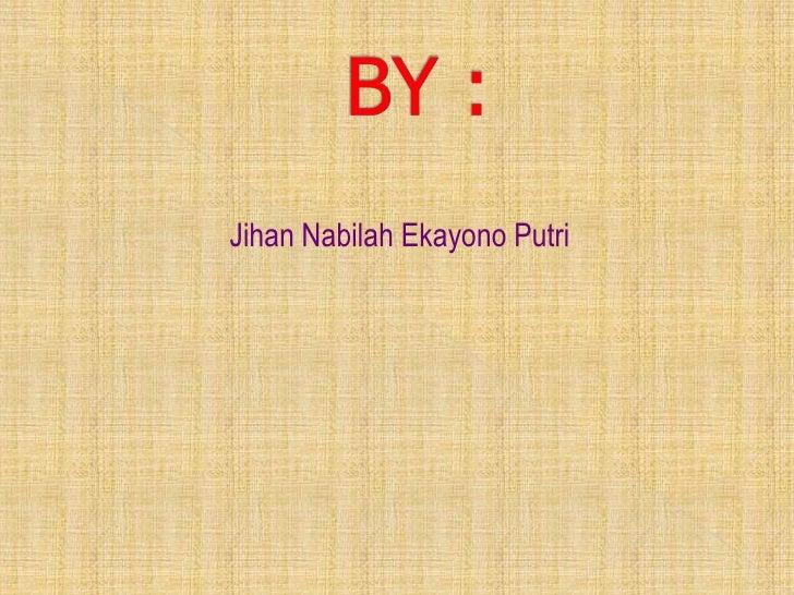 Jihan Nabilah Ekayono Putri