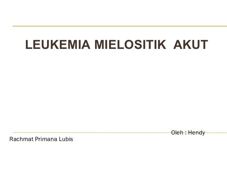 Presentasi leukemia