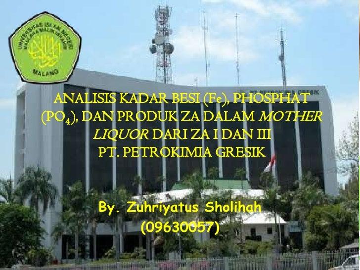 Presentasi seminar pkl
