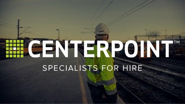 Centerpoint - A short presentation