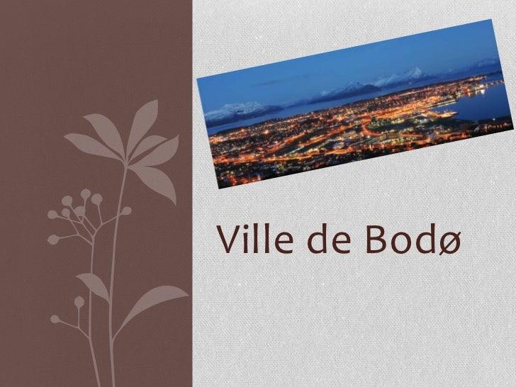 Ville de Bodø