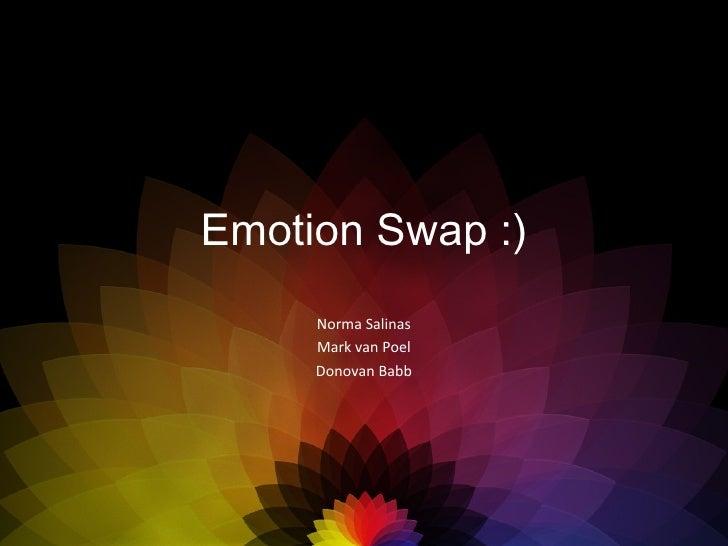 Presentatie UXD EmotionSwap