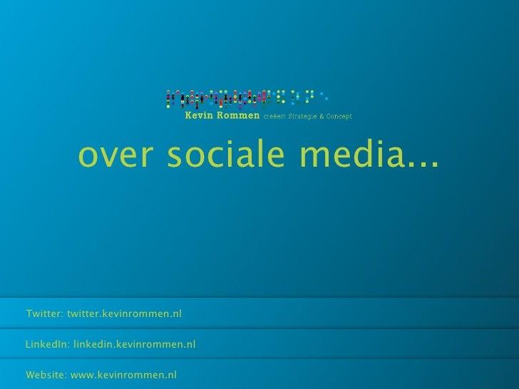 Social Media @ Marketshare