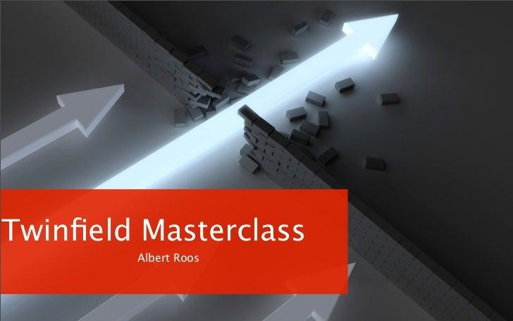 Presentatie Albert Roos Twinfield Masterclass #TWFMC