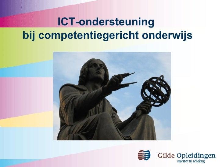 ICT-ondersteuning  bij competentiegericht onderwijs