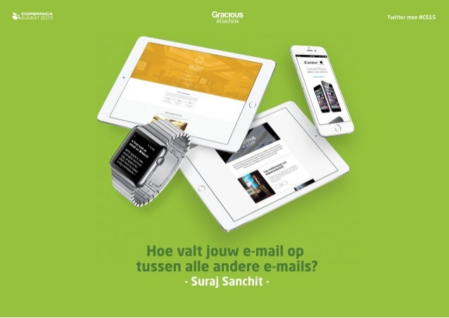Suraj Sanchit - Hoe valt jouw e-mail op tussen alle andere e-mails?