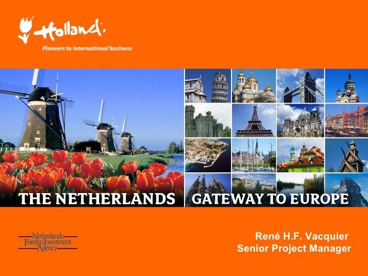 Presentation Nfia Chinese investment Netherlands