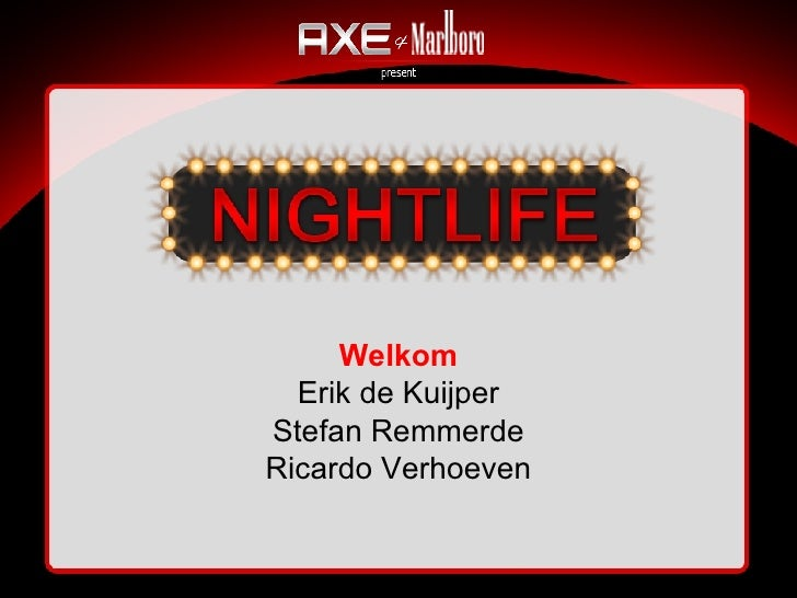Presentatie Nightlife