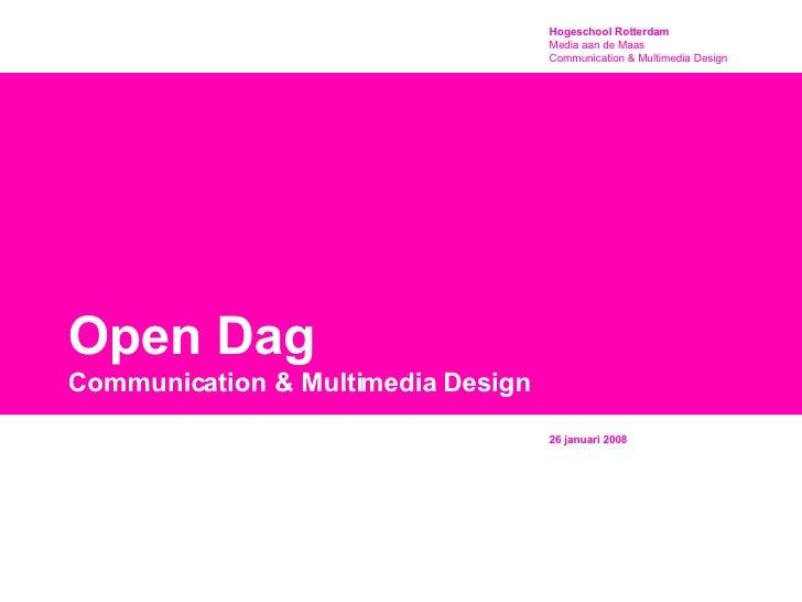 Presentatie Opendag 26jan2008