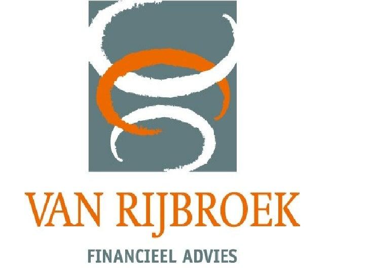 Presentatie Van Rijbroek Advies
