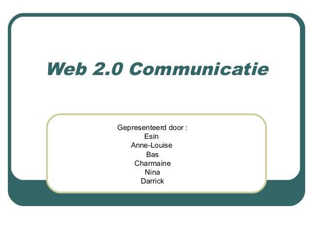 presentatie web 2.0