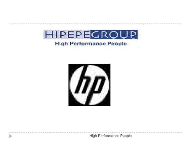 High Performance People<br />