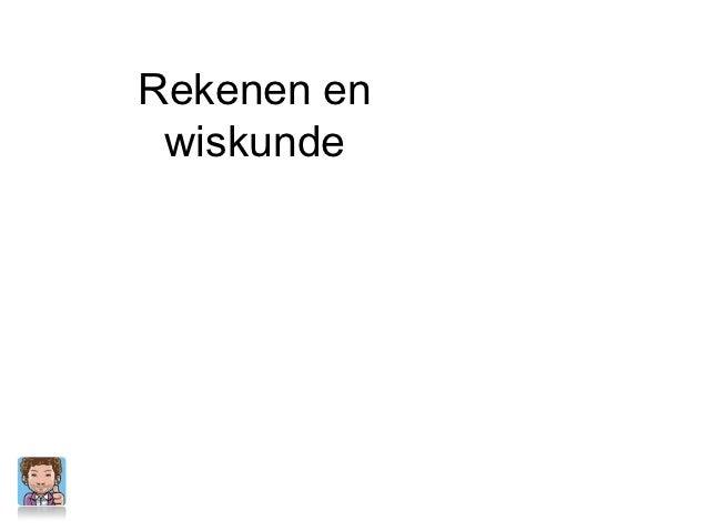 Rekenen/Wiskunde