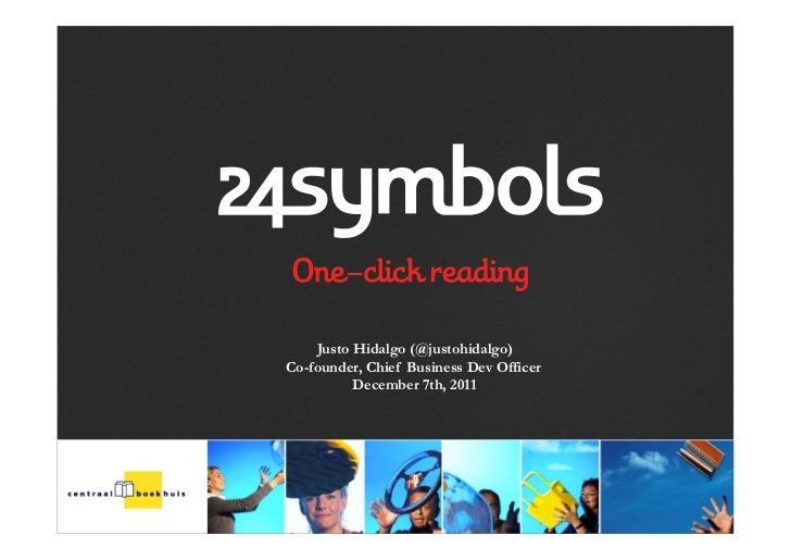 Presentatie 24symbols 017122011